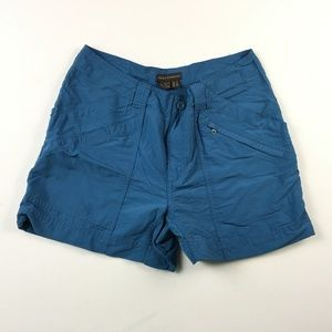 Royal Robbins Womens Shorts Blue Size 4 Outdoor